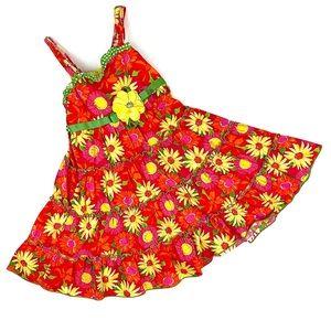 🎃 Sweet Heart Rose Daisy/Floral Girls Dress 🎃